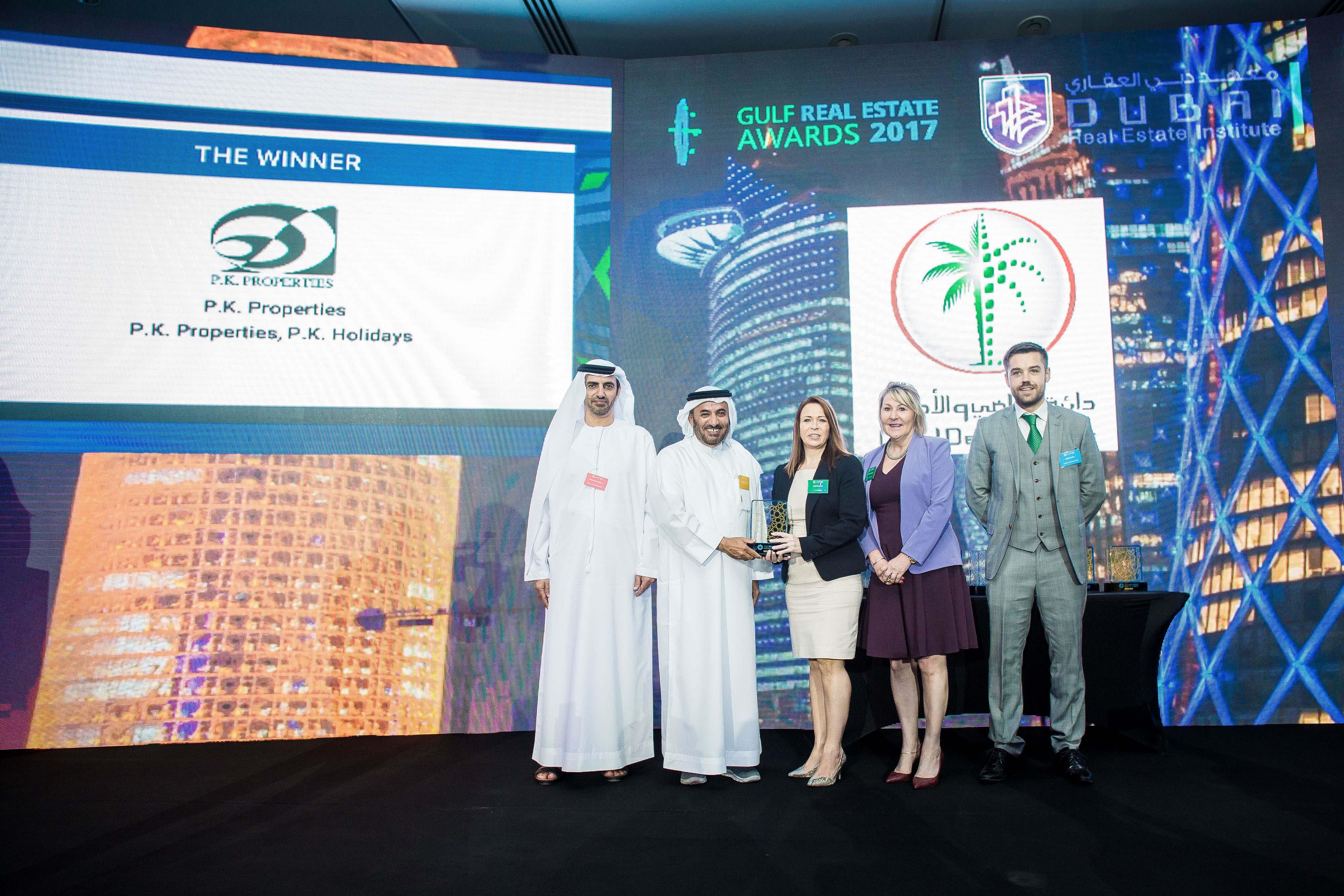 Resize-P.K. Properties Gulf RE Awards Photo 2 -