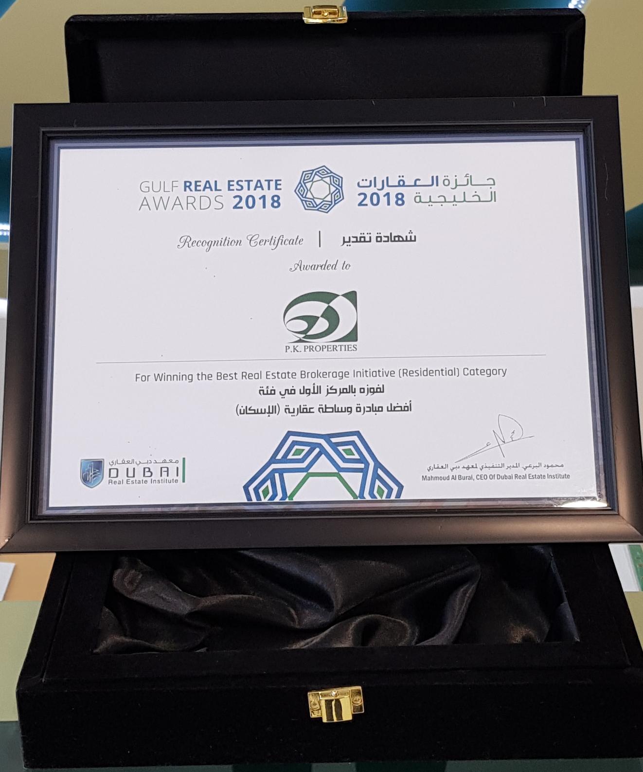 BestHoliday Home Company in Dubai - Winner